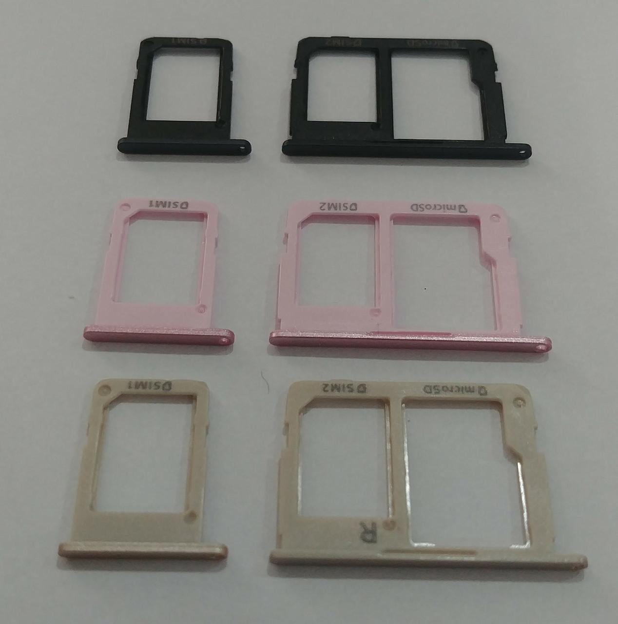 Gaveta Bandeja Slot SIM Card Samsung J5 Prime Sm G570 / J7 Prime Sm G610