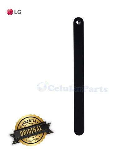 Gaveta Chip 1 + Chip 2 LG Q610 Q710 Q7+ Qnote + Preto Original