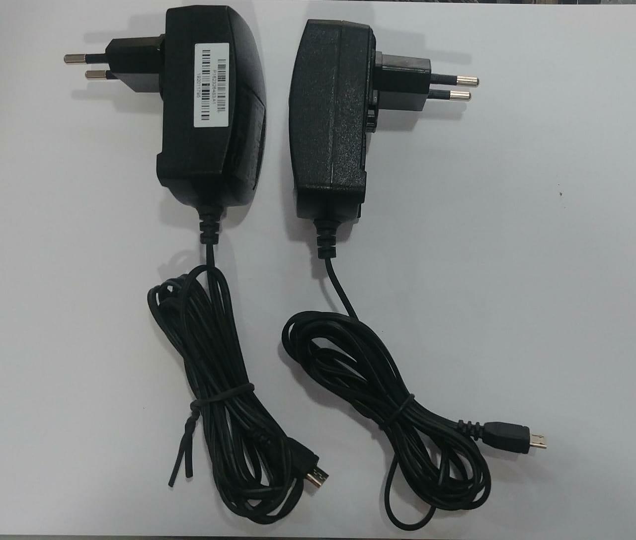 kit 10 Carregadores para Cel. e Tablet 1200Mah Fio Extra grande 1m70cm Micro Usb