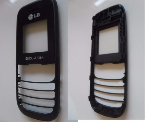 Kit 5 Un Visor Carcaça Celular LG A275 Preto Original