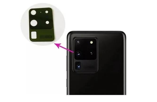 Lente Vidro Camera Traseira Galaxy S20 Ultra G988 Original