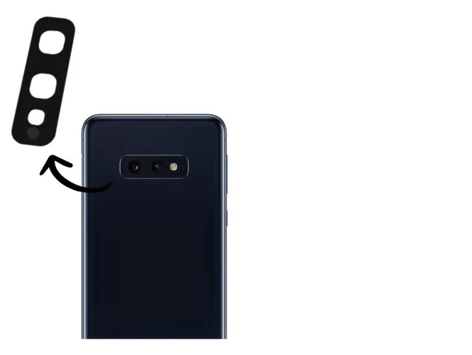 Lente Vidro Camera Traseira Samsung S10e G970