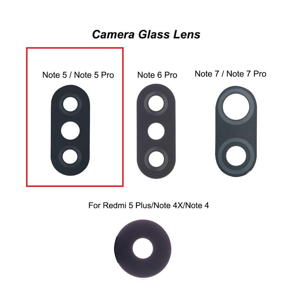 Lente Vidro Camera Traseira Xiaomi Redmi Note 5 / Note 5 Pro