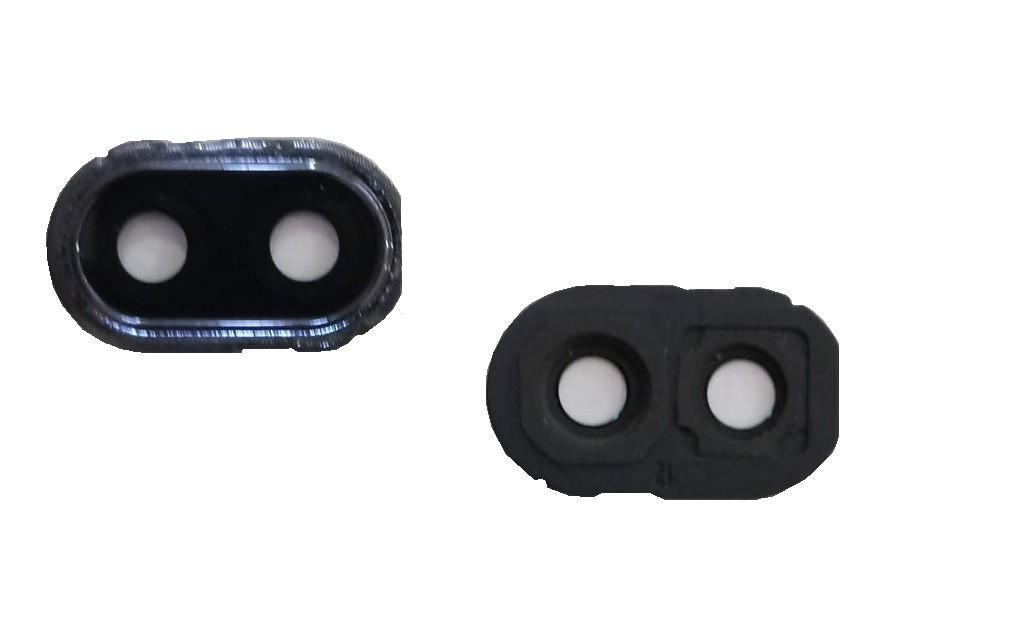 Lente Vidro da Câmera Celular Lg K40s LM X430 com moldura