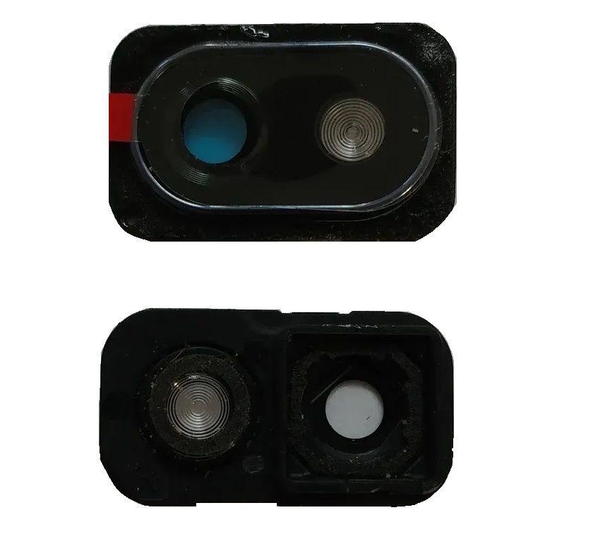 Lente Vidro Da Câmera Moldura LG K12+ Plus Lm X420 Original