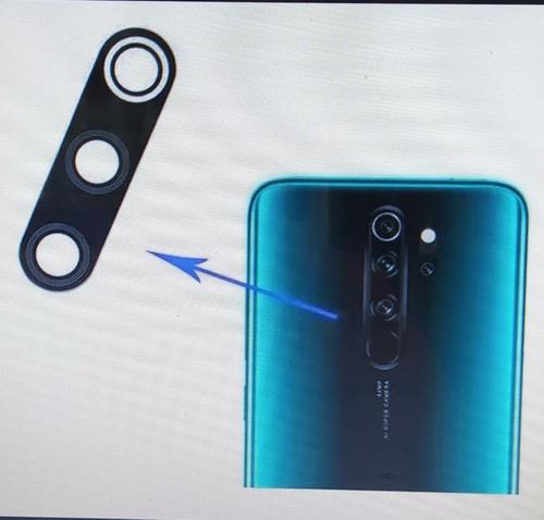 Lente Vidro Da Camera Xiaomi Redmi Note 8 Pro