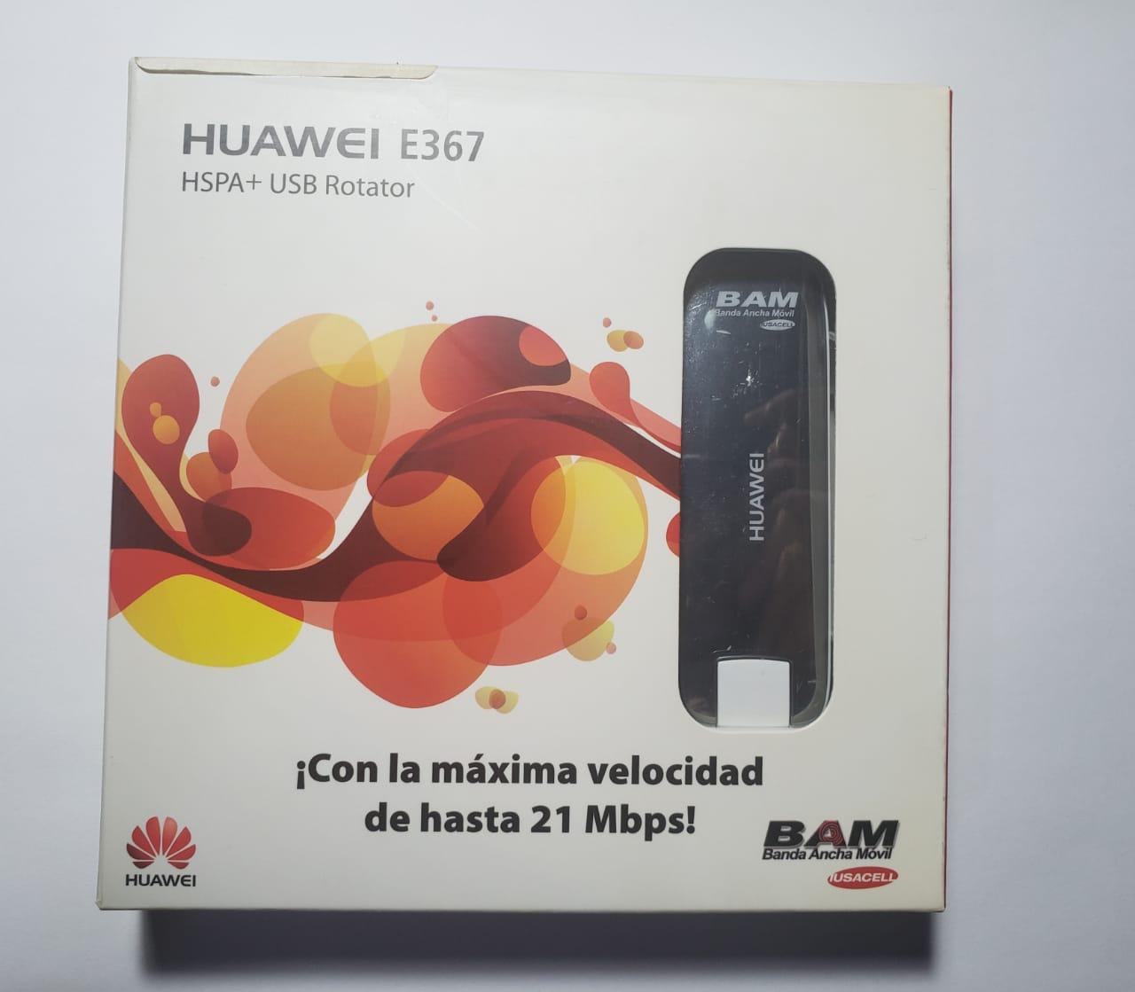 Modem 3G Huawei E367 com entrada para antena externa 28.8Mbps  Desbloqueado para todas operadoras
