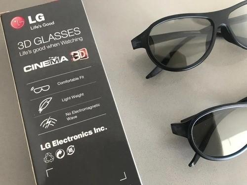 Óculos 3d LG Originais Ag-f310 Cinema 3d Glasses - 2 Unidades