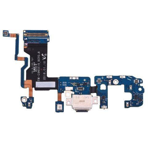 Placa Conector Carga Flex Usb Galaxy S9 Plus G9650