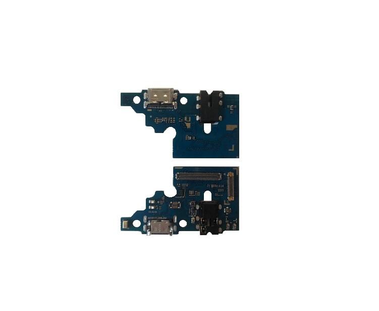 Placa Conector Carga  Microfone E P2 Samsung A51 A515