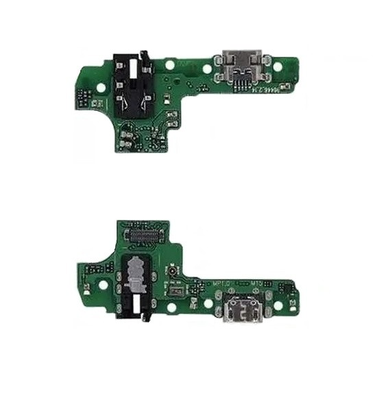 Placa Conector de Carga Áudio Jack do Fone Samsung A10s Sm-A107 com microfone