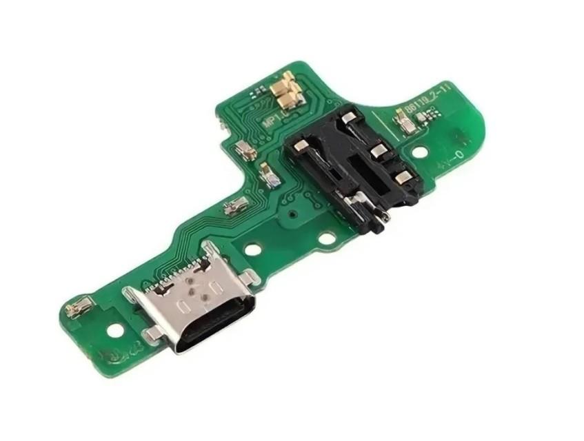 Placa Conector de Carga Áudio Jack do Fone Samsung A20s Sm-A207 com microfone