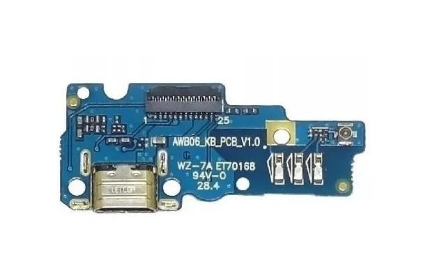 Placa Conector De Carga E Microfone Asus Zenfone Go Zc500tg