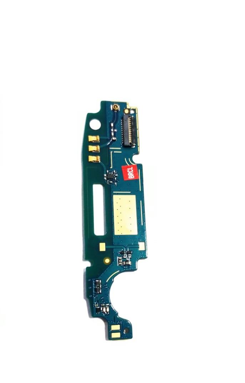 Placa Sub Moto C Plus com Microfone e Conector Antena XT1726