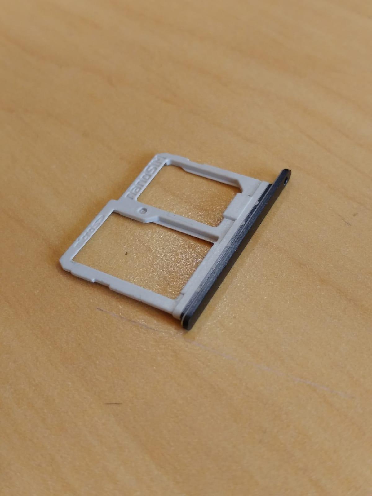 Slot / Bandeja Do Chip LG Preta Celular Q6 Q6+ M700 Original