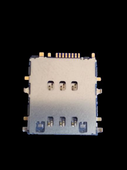 Slot Conector Chip Celular Tablet T110/t111 Para Solda Novo