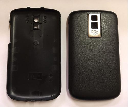 Tampa Celular Blackberry Bold 9000 Original Couro Preta
