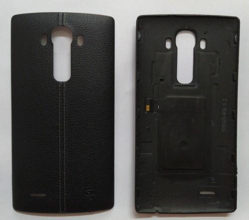 Tampa Traseira Couro Smartphone LG G4 H815 / H810 Original