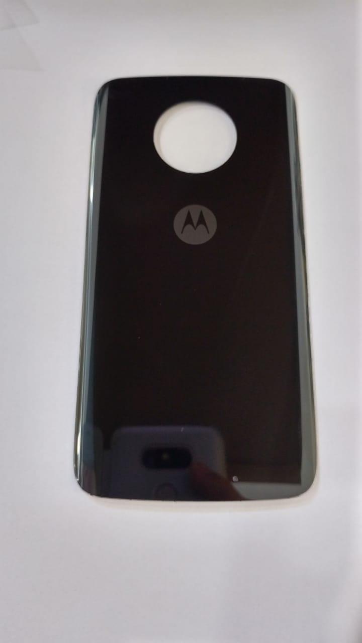 Tampa  Traseira Motorola Moto X4 Preta Vidro Xt1900 Original