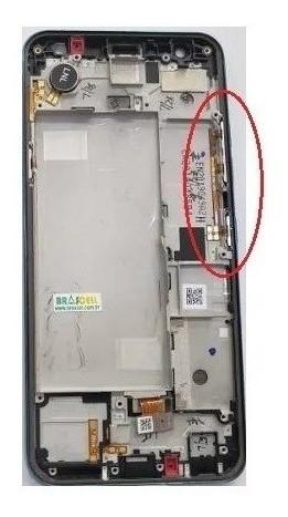 Teclas Botões Volume + Power LG K12 Plus Lm X420 Original