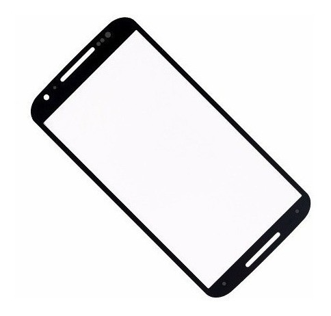 Tela Lente Vidro Sem Touch Moto X2 Xt1097 Xt1098 Preto