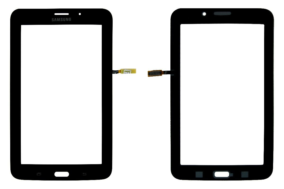 Vidro Touch Screen Tablet Samsung  7 Polegadas Gt P1010 Preto