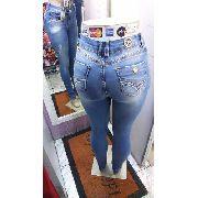 Calça Jeans Feminina Clara Canal Da Mancha Cintura Alta