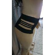 Calcinha Avulsa Hot Pant Cintura Alta Tiras lateral