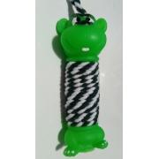 Brinquedo Para Cachorro Macaco Halteres Com Corda