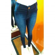 Calça Jeans Feminina Rackso Cintura Alta
