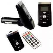 Transmissor Veicular Fm Mp3 Usb Pen Drive Cartão Micro SD