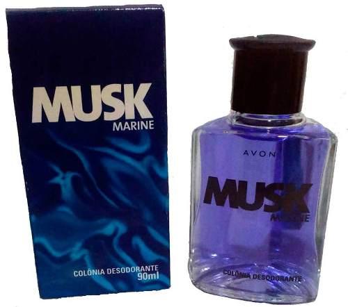 Perfume Masculino Musk 90ml Avon Colonia Desodorante