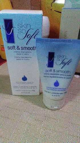 Skin So Soft Creme Depilatório Para O Rosto Avon