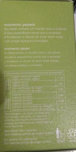 Perfumes Mamãe E Bebê 100ml Natura 2 unidades