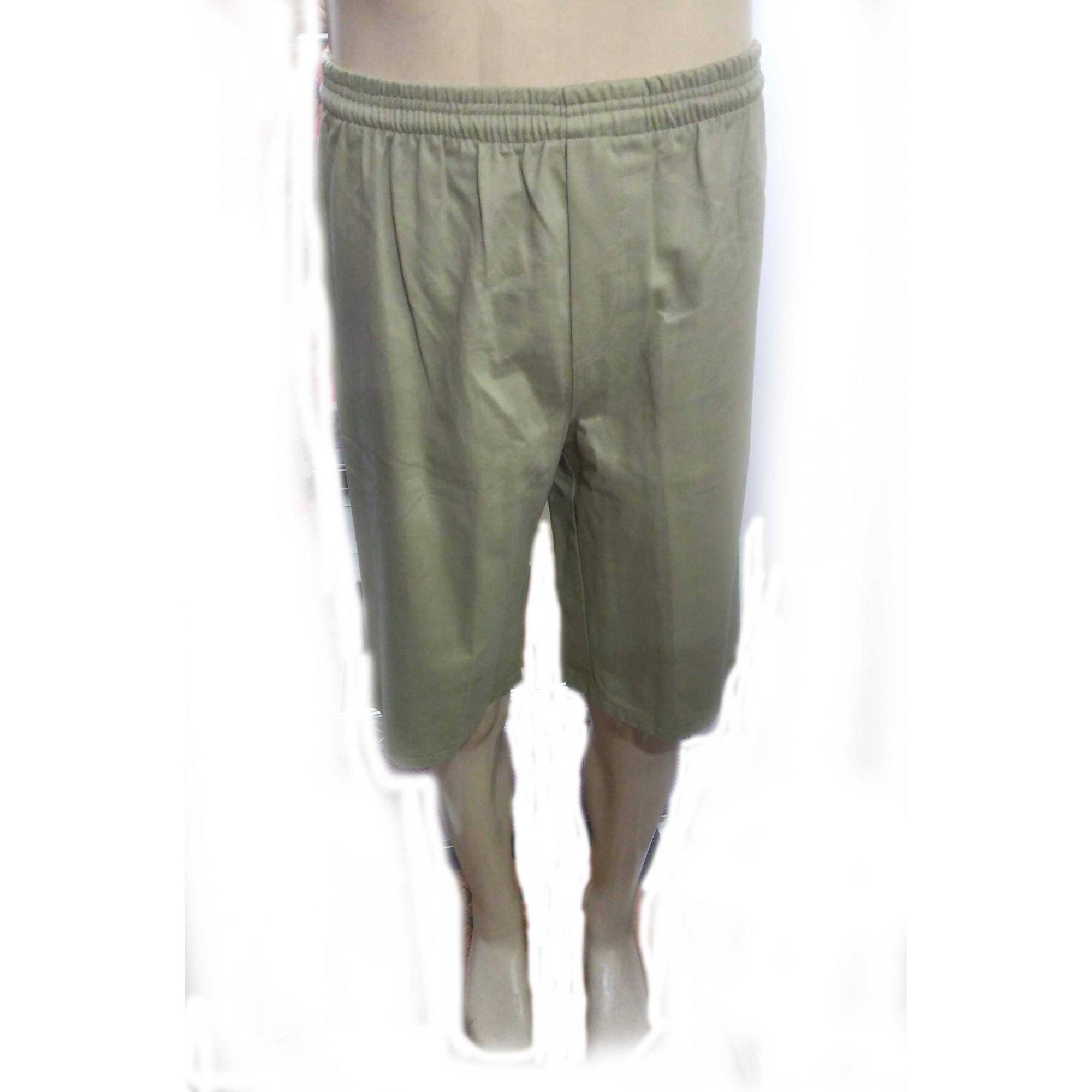Bermuda Sarja Masculina shorts Cdps Uniformes caqui