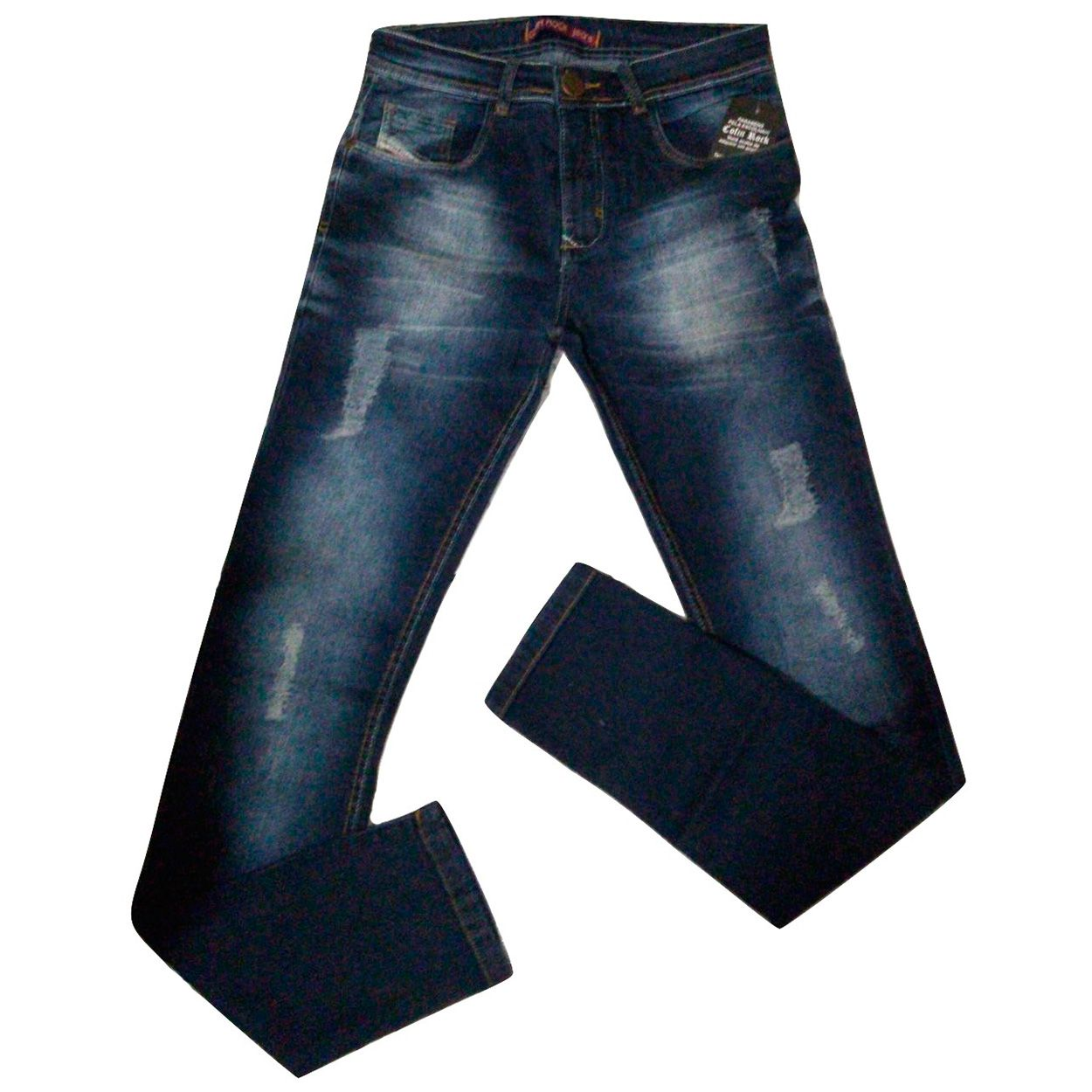 Calça Jeans Masculina Slim Cofin Rock