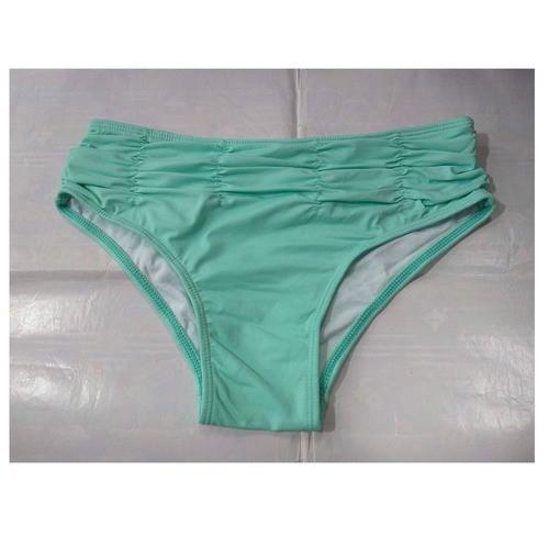 Calcinha Avulsa Hot Pant Cintura Alta elasteck biquini