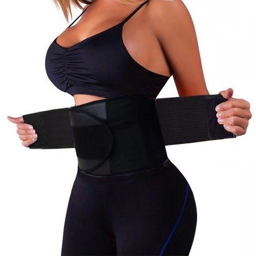 Cinta Modeladora Unissex Modele sua cintura de forma saudável