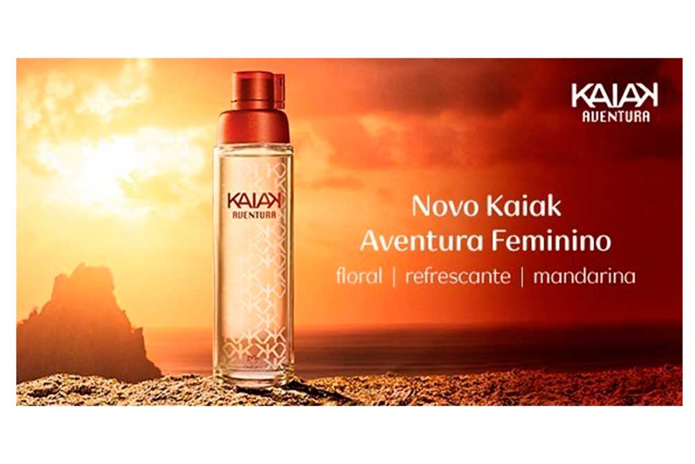 Colônia Kaiak Aventura Tradicional Feminino 100ml Natura