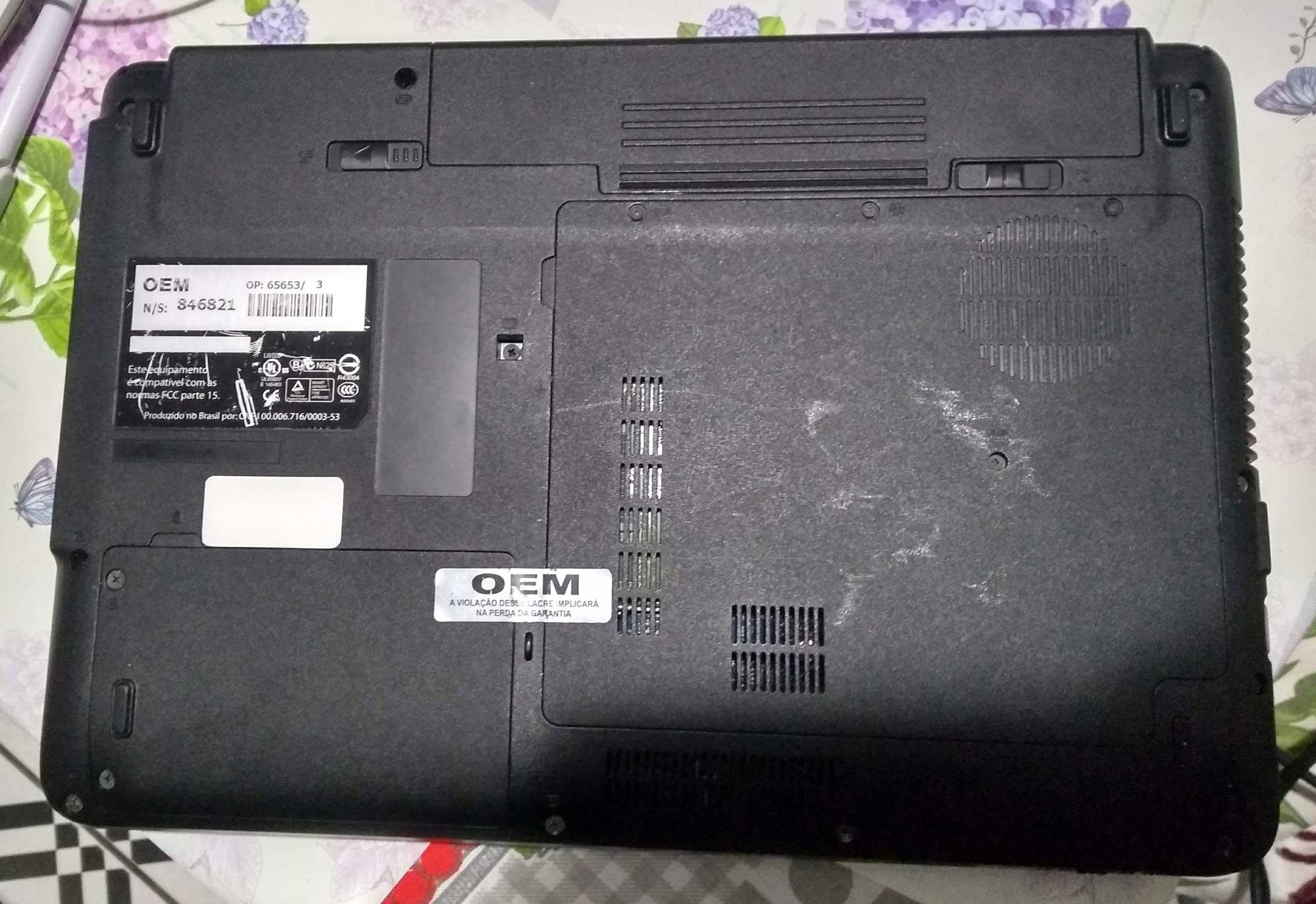 Notebook login core 2 duo 3gb memoria leia a descrição