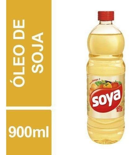 Óleo De Soja Soya 900ml Garrafa 2 unidades