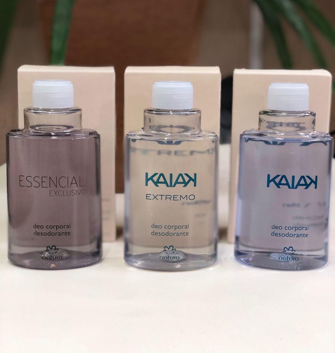 Refil Desodorante spray natura 100ml 3 unidades