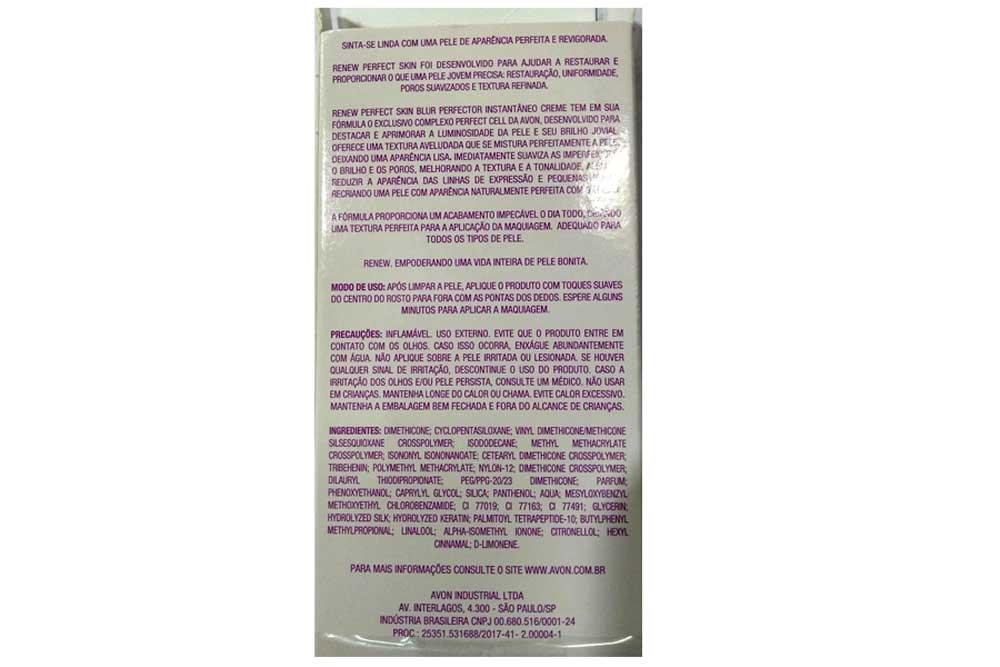 Renew Perfect Skin Creme Hidratante Avon 30g