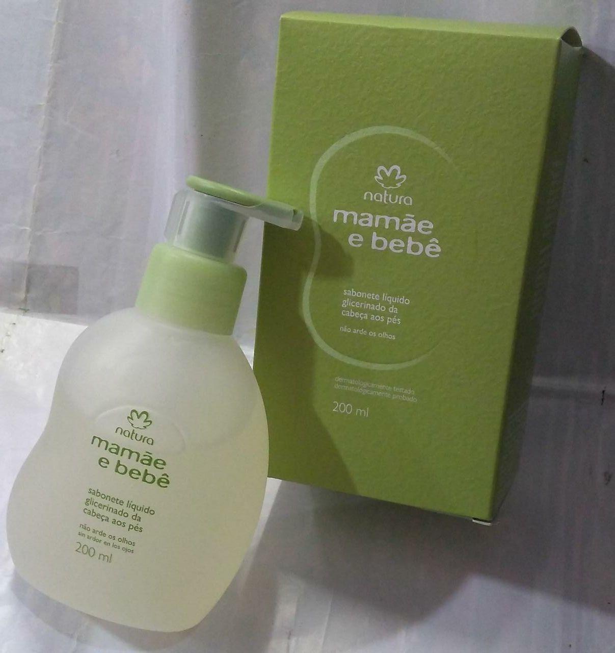 Sabonete Liquido Glicerinado Natura MMBB 200ml