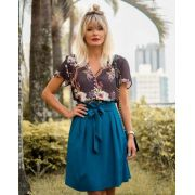 Blusa Adriana Crepe Floral