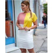 Blusa  Alexandra Crepe Colors