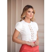 Blusa Amanda Fly Away Manga Princesa