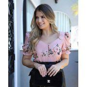 Blusa Ariane Crepe  Floral