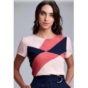 Blusa Claudia Crepe  Colors