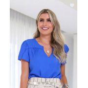Blusa Daniela Crepe Detalhe Vivo
